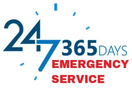 Open 24 Hours, 7 Days - Emergency Service