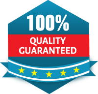 100% Quality Guaranteed