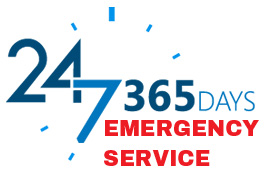 Open 24 Hours, 7 Days - Emergency Service